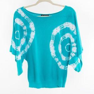 I.N.C. Petite Turquoise Sequin Sweater - SP